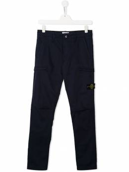 Stone Island Junior - TEEN compass badge trousers 99636999955965500000