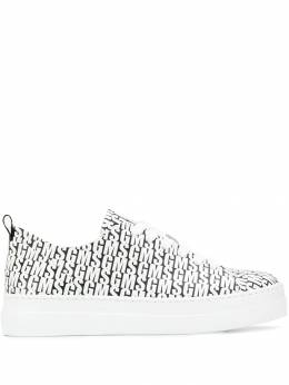 MSGM - logo printed lace-up sneakers 9MDS6930969550339500