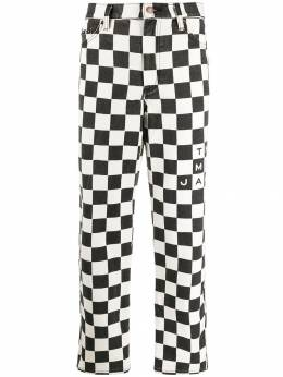 Marc Jacobs - checkered jeans 68565953399650000000