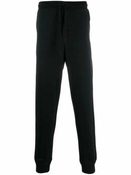 Ermenegildo Zegna - logo-embroidered tapered trousers 50TROR95399336000000