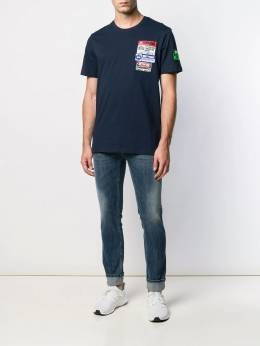 Frankie Morello - multi-patch detail T-shirt F9955TS9550356900000