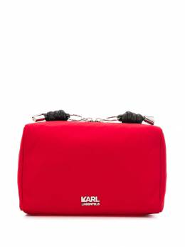 Karl Lagerfeld - address print make-up bag W3098566955359690000
