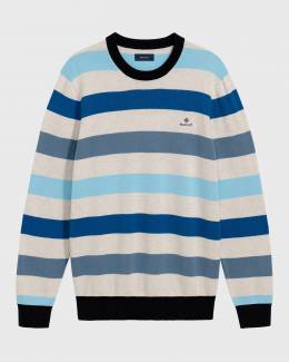 Джемпер Multi Colored Stripe Crew Gant 40433