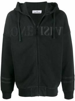 Stone Island - cotton zip-up hoodie 56355395596693000000