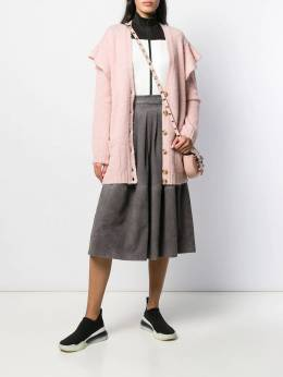 Red Valentino - ruffled buttoned cardigan KAA385LV955989990000