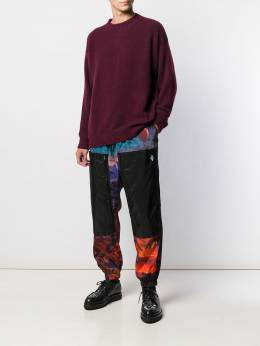 Marcelo Burlon County Of Milan - graphic print track trousers A956F99B596908869955