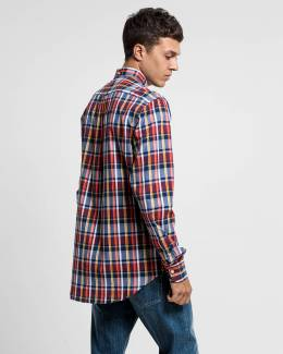 Рубашка Oxford Plaid Reg Bd Gant 40557