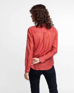 Рубашка Breezy Harvest Cotton Silk Gant 40261