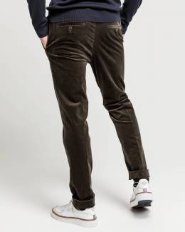 Брюки Slim Fit Cord Slacks Gant 42582