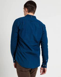 Рубашка Slim Fit Tech Prep Indigo Shirt Gant 42669