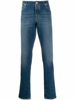 Brunello Cucinelli slim faded jeans M283PJ2010C1471