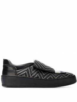 Sergio Rossi studded skater sneakers A79290MFN189