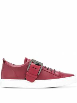Lanvin buckled low top sneakers FWSKPK01NAPAA18