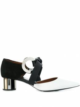 Proenza Schouler pointed hoop mules PS31090A09109