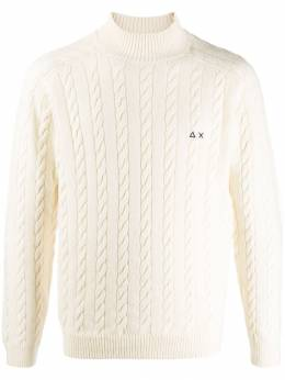 Sun 68 - cable knit sweater 93995566950000000000
