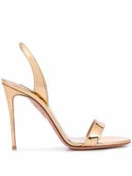 Aquazzura босоножки So Nude 105 SNUHIGS0SPESOG