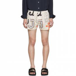 Jacquemus White Le Calecon Felix Shorts 192553M19300106GB