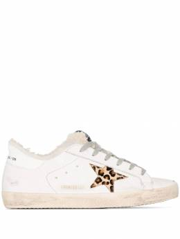 Golden Goose - superstar shearling sneakers WS596R33959639930000