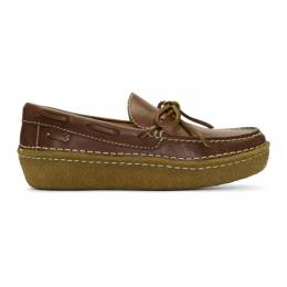 Polo Ralph Lauren	 Brown Leather Myles Loafers 192213M23100107GB