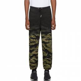 Diesel Green Camo P-Frei-Tigercam Lounge Pants 192001M19000603GB