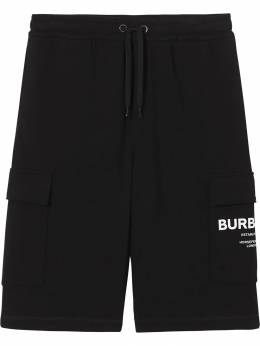 Burberry - cargo pocket Horseferry print track shorts 35969596936500000000