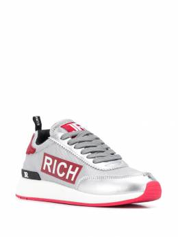 John Richmond - side logo print sneakers ACV95595893000000000