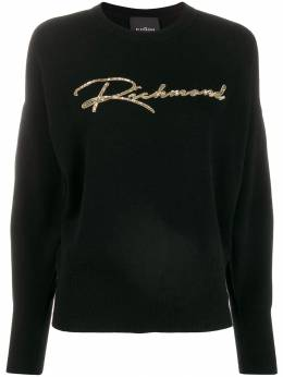 John Richmond - sequin-embellished knitted jumper 99309MA9559553500000