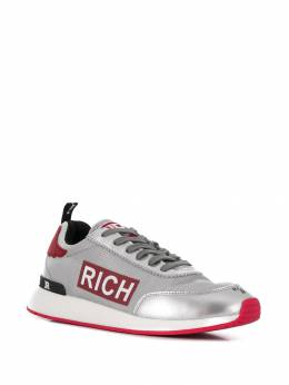 John Richmond - panelled logo sneakers ACV95595939000000000