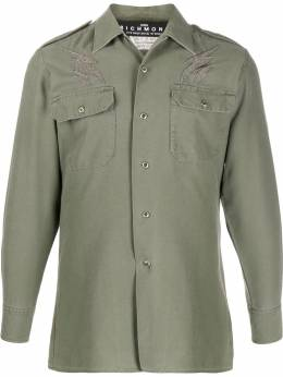 John Richmond - patchwork military shirt 99356GC9559555000000