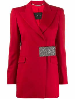 John Richmond - glitter panel belted jacket 99386GC9559553300000
