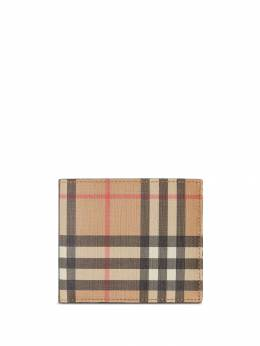 Burberry - Vintage Check International bifold coin wallet 66989563335900000000