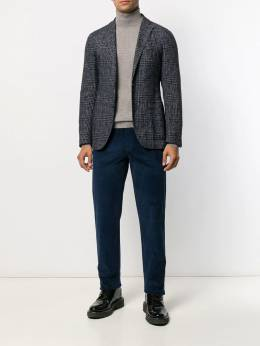Canali - turtle-neck fitted top 06MK6663395593699000