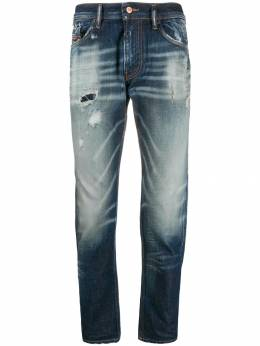 Diesel - low-rise distressed jeans W9P6690I955903990000