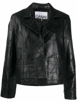 Ganni - patchwork jacket 06955995530000000000