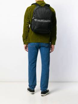 A.P.C. - branded zip pocket backpack CLH06963955963360000