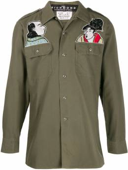 John Richmond - patch detail shirt jacket 99338GC9559555600000