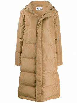 Ganni - long line puffer jacket 05955369560000000000