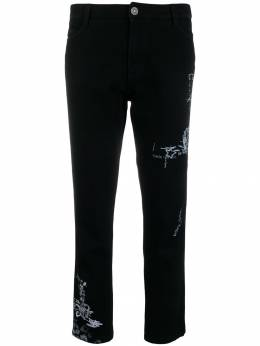 Ermanno Scervino - printed straight leg trousers 3P366TPK955035830000