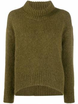 Ermanno Scervino - ribbed turtle neck jumper 5M366PUN955035860000