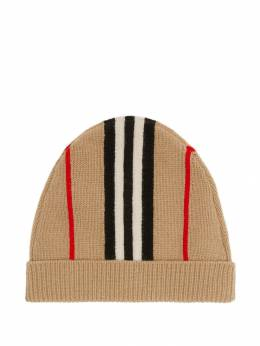 Burberry Kids - Icon Stripe beanie hat 85369556535500000000