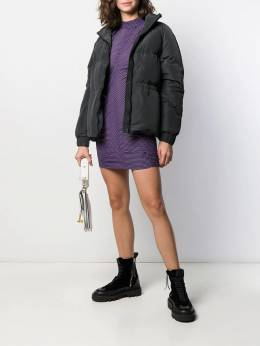 Ganni - relaxed fit puffer jacket 50955369550000000000