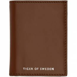 Tiger Of Sweden Brown Whin Wallet 192115M16400701GB