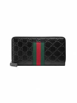 Gucci - кошелек 'Signature Web' 839CWCLN906309960000