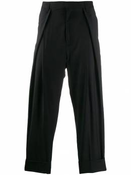 Ann Demeulemeester - pleated detail tapered trousers 83566939955895590000