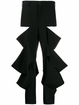 Comme Des Garçons - ripped high-rise trousers 663W9995568688000000