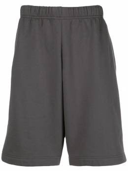 GR10K - knee length track shorts 9GR693GRY95563555000