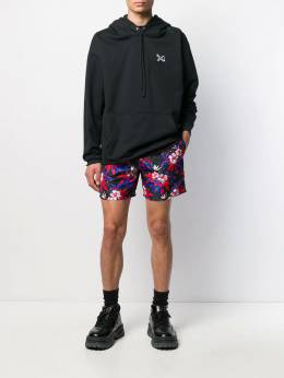 Sss World Corp - Space Hibiscus swim shorts M8955958950000000000