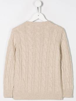 Siola - cable knit jumper 9M955363660000000000