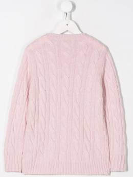 Siola - cable knit jumper 9F955363660000000000