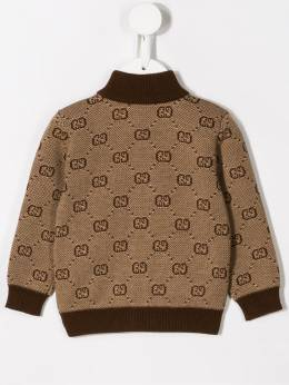 Gucci Kids - GG knitted jacket 698XKASZ955595900000
